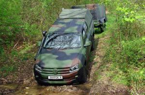 Rheinmetall's Amarok M Light Multi-Purpose Vehicle (LMPV) at Eurosatory 2012