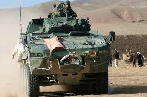Patria AMV - combat proven in Afghanistan