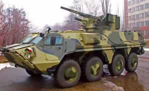 Head of SOE KMDB spoke about execution of contract for supply of BTR-4