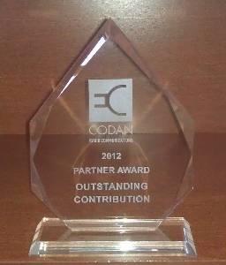 Codan Partner Award
