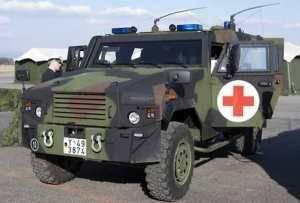 EAGLE BAT (protected ambulance) vehicle
