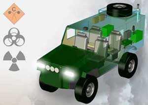 Lightweight CBRN Reconnaissance Vehicles