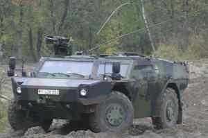 KMW delivers 10 FENNEK to German Bundeswehr