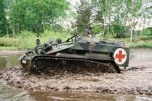 Wiesel 2 armoured field ambulance