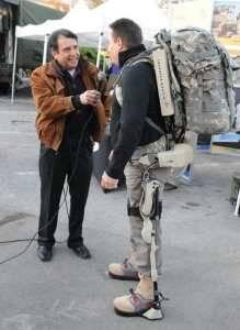 Exoskeleton Enhances Warfighter Strength, Reduces Injury
