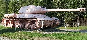 Soviet-made IS-2 heavy tank