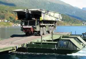 KMW Upgrades Norwegian Bridgelayers