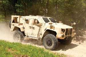 The L-ATV offers advanced troop protection against IEDs and other battlefield threats