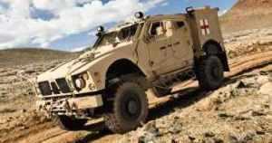Oshkosh Defense Unveils New M-ATV Ambulance Variant at Army Medical Symposium and Exposition