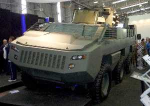 Paramount unveils Mbombe IED-protected armoured vehicle