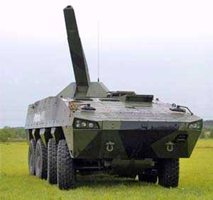 Patria signed the final subcontract for the supply of it`s Nemo Mortar System