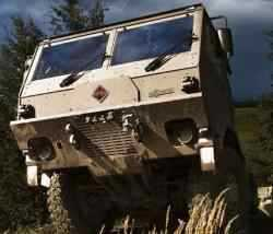 Navistar Defense Displays Military Vehicles for Future South African Truck Requirement