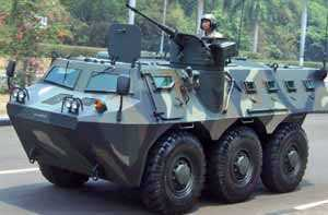 Integrated HF Radio system for Armoured vehicles