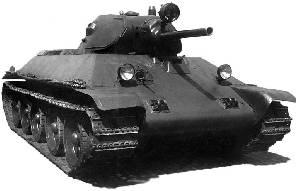Soviet T-34 Model 1940 medium tank