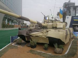 Ukraine holds talks on sale of T-84U Oplot battle tanks to Azerbaijan