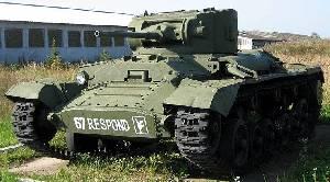 British Valentine infantry tank