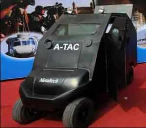 Anti-terror buggy unveiled by Metaltech in India