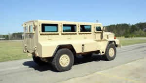 Cougar Joint Explosive Ordnance Disposal (EOD) Rapid Response Vehicle