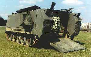 M121 120mm Carrier Mounted Mortars