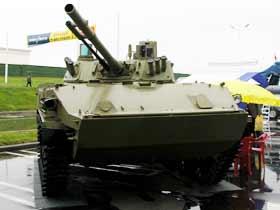 BMD-4 airborne combat vehicle