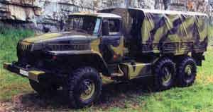 6x6 Ural-series lorrie