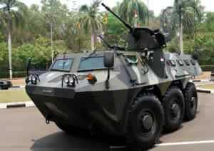 Pindad Delivers 33 Panzers APC-2 6X6 to the Indonesian Ministry of Defense