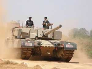 Indian Army Gets its First Armoured Regiment of MBT Arjun