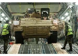 British Army Warriors get protection and mobility upgrade