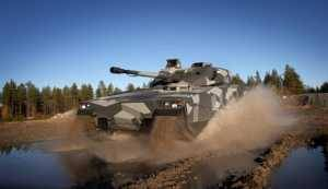 The latest-generation CV90, a multi-role vehicle, features a wide range of enhancements from earlier models