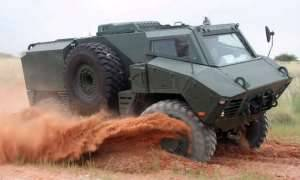 BAE Systems Launch Latest Mine Protected Vehicle - The RG35 (4X4) Reconnaissance Patrol and Utility Vehicle