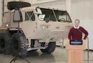 Boeing Laser Demonstrator Program Accepts Oshkosh Military Truck, Enters Fabrication Phase