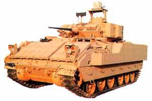 Bradley infantry fighting vehicle
