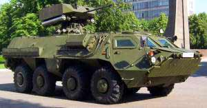 BTR-4 8x8 armoured personnel carrier