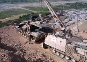 Buffalo armoured recovery vehicle