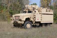 Caiman Multi-Terrain Vehicle Ambulance Variant