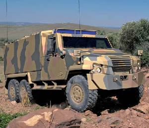 General Dynamics European Land Systems presents the new EAGLE 6X6 at EUROSATORY 2012