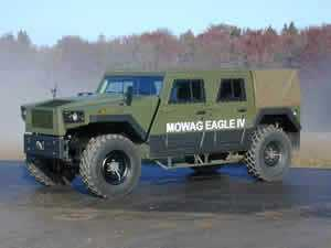 General Dynamics European Land Systems Awarded Contract for 198 EAGLE IV 4x4 Vehicles for Germany