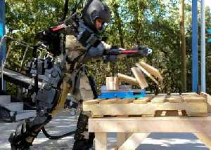 Raytheon unveils lighter, faster, stronger second generation exoskeleton robotic suit