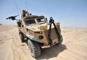 The MOD made an initial order for 200 Foxhound vehicles in November 2010 and a further 100 were requested late last year as par