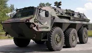 Diehl BGT Defence MAPS Mutual Active Protection System on Fuchs