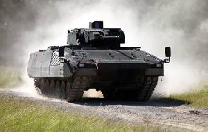 The Boeing/SAIC bid is based on the Puma infantry fighting vehicle