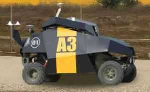 Israeli Military Unveils Armed Patrol Robot