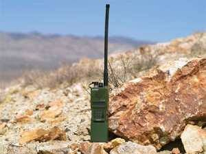 The AN/PRC-152(C) radio serves as handheld transceiver