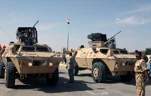 Iraqi Light Armored Vehicles