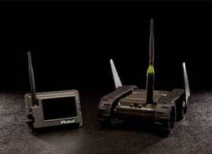 iRobot Develops 110 FirstLook, a Small, Light, Throwable Robot