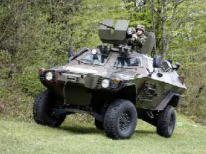 Otokar Cobra armoured tactical vehicle