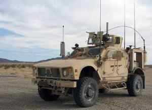 Army Networks MRAPs, M-ATVs