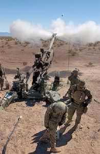 M777 155mm Lightweight Field Howitzer