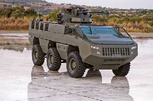 Mbombe - Paramount Low Profile Vehicle (PLPV)