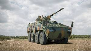 Latest 8x8 combat vehicle showcases world-class technologies from leading African defence Group